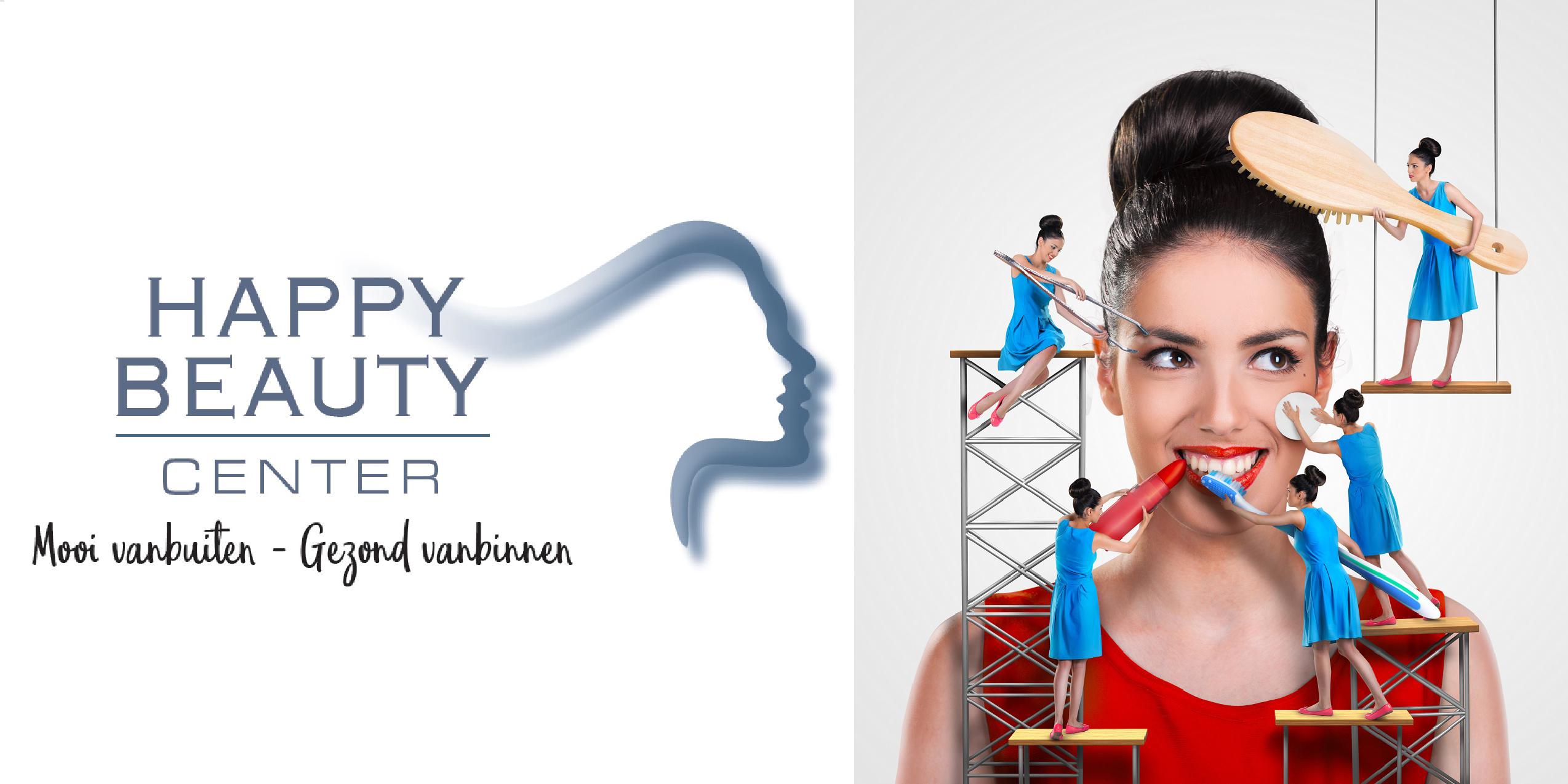 19) happy beauty center logo