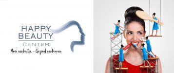happy beauty center logo